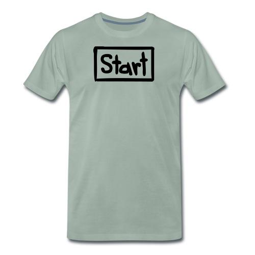 Startbutton - Männer Premium T-Shirt
