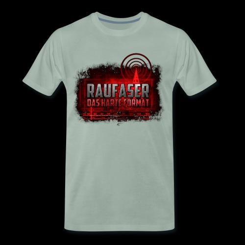 Raufaser Logo - Männer Premium T-Shirt