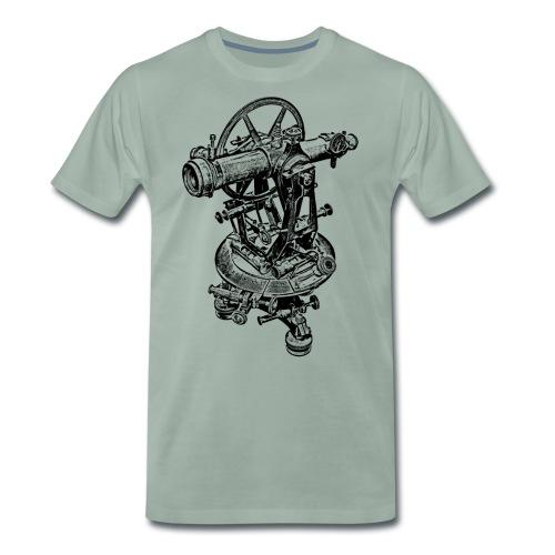 Old Theodolite Hoodie - Men's Premium T-Shirt