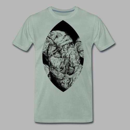 einauemRASTER - Männer Premium T-Shirt