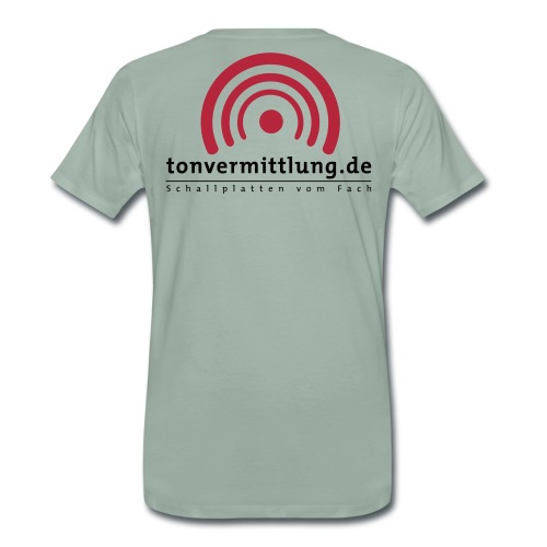 logo hoch - Männer Premium T-Shirt