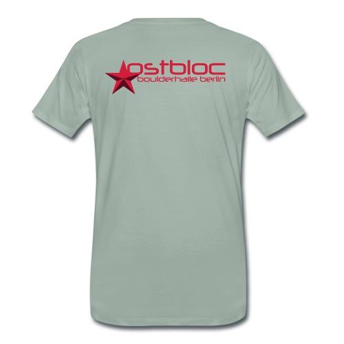 gruen grau - Männer Premium T-Shirt