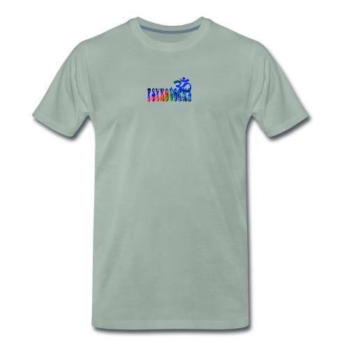 psykologne logo 2014 Kopie png - Männer Premium T-Shirt