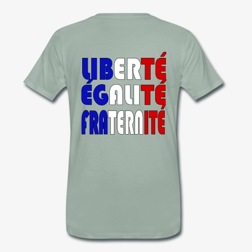 Liberté - Égalité - Fraternité - Camiseta premium hombre
