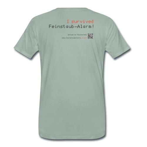i survived feinstaubalarm - Männer Premium T-Shirt
