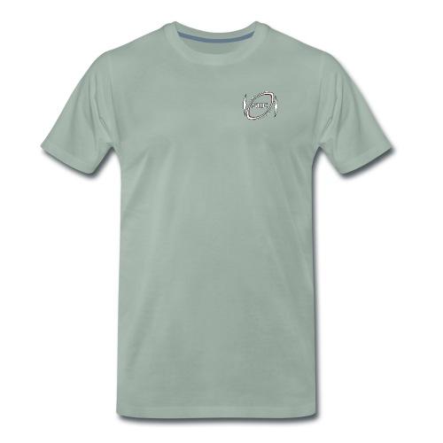 Silkeborg Rugby Club logo - Herre premium T-shirt