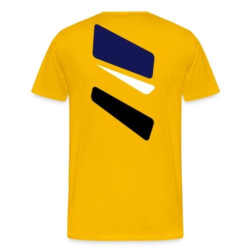 3 strikes triangle - Men's Premium T-Shirt