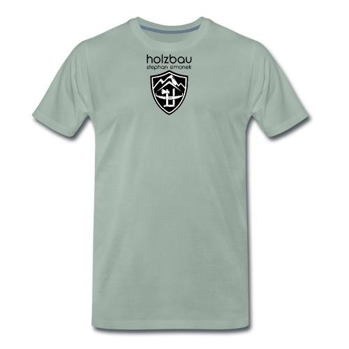 schild unten - Männer Premium T-Shirt