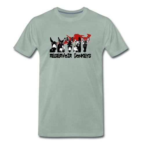 reservoirdonkeysd1 - Men's Premium T-Shirt