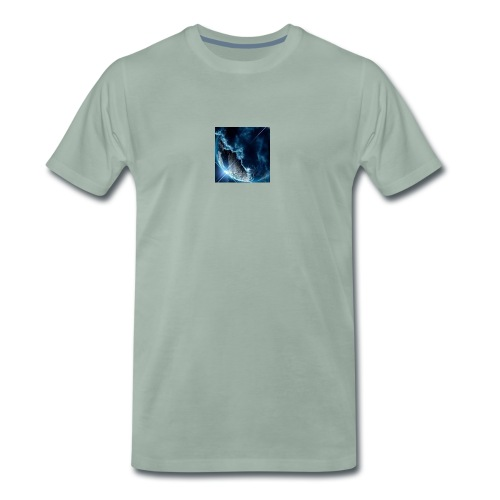The earth - Premium-T-shirt herr