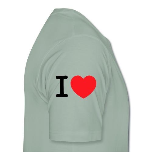 i-luve - Männer Premium T-Shirt