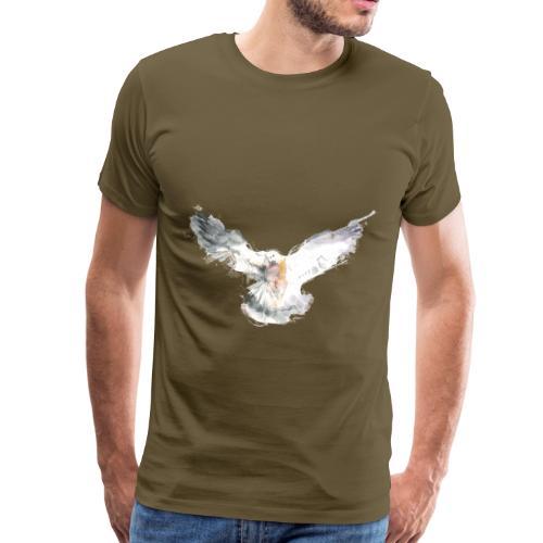 Taube - Männer Premium T-Shirt