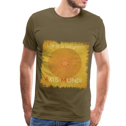 life is a labyrinth - T-shirt Premium Homme