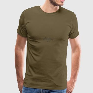 kleuterwereld-ontwerp - Mannen Premium T-shirt