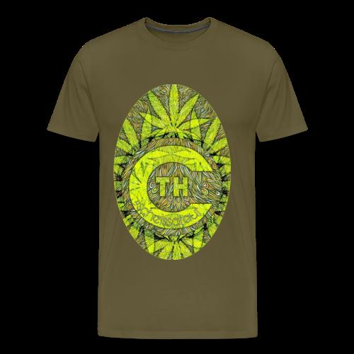 FUCKcbdTHC4lif3 (#scheissdrauf) - Männer Premium T-Shirt