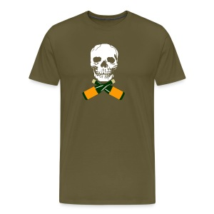 Skull and Bucky Bottles - Men's Premium T-Shirt