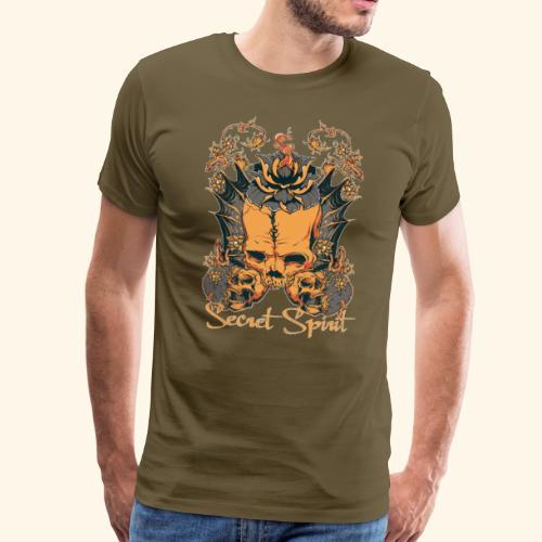 Totenkopf - skull - Männer Premium T-Shirt