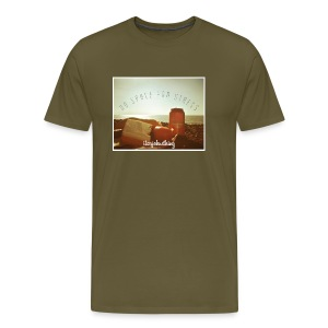 No Space For Stress - Men's Premium T-Shirt
