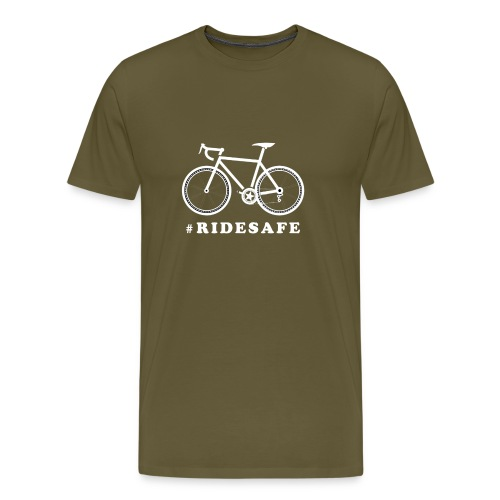 Road bike - ridesafe - Maglietta Premium da uomo