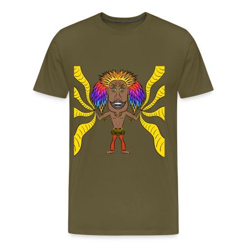 Sciamano colorato - Maglietta Premium da uomo