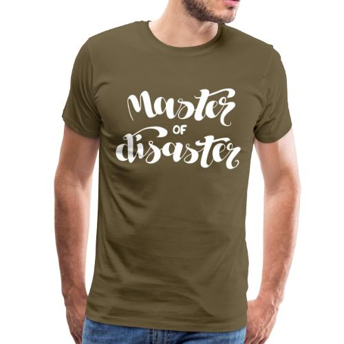 Master of Disaster - Männer Premium T-Shirt
