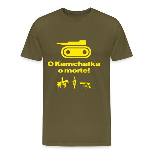 RisiKo O kamchatka o morte - giallo - Maglietta Premium da uomo