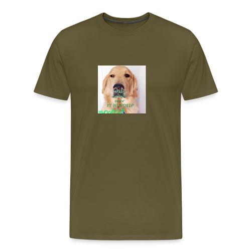 HUNDELPYT MERCH - Männer Premium T-Shirt