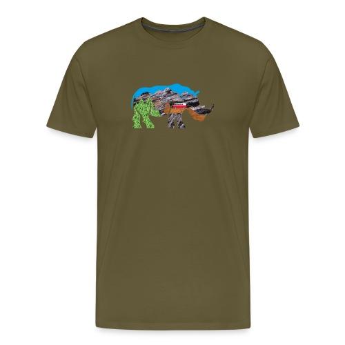 Russell Rhino Adventure - Men's Premium T-Shirt