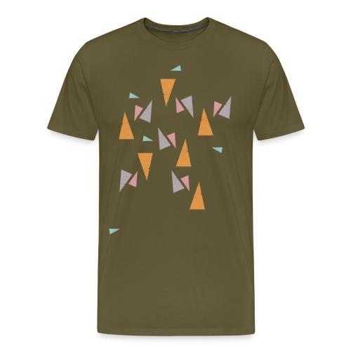 Pattern Mint - Männer Premium T-Shirt