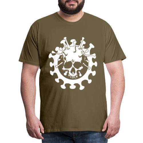 Skull No Corona - Maglietta Premium da uomo