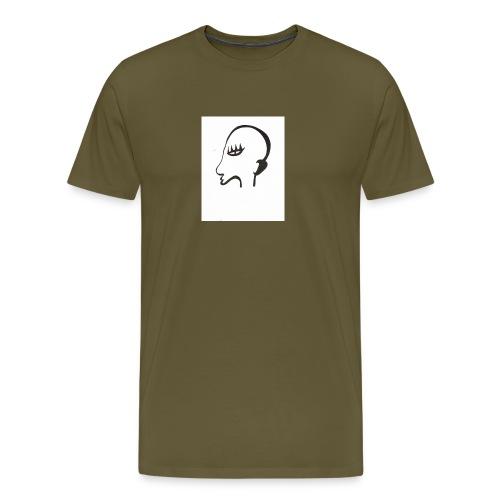 Profil de monstre - T-shirt Premium Homme