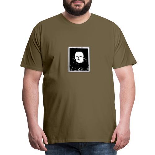 Gesicht Lavater - Männer Premium T-Shirt