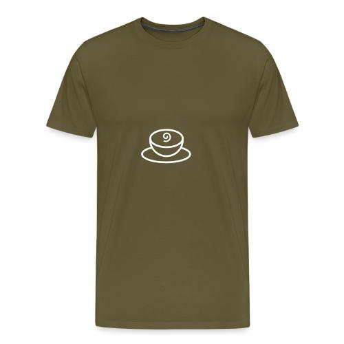 Kaffeetasse - Männer Premium T-Shirt