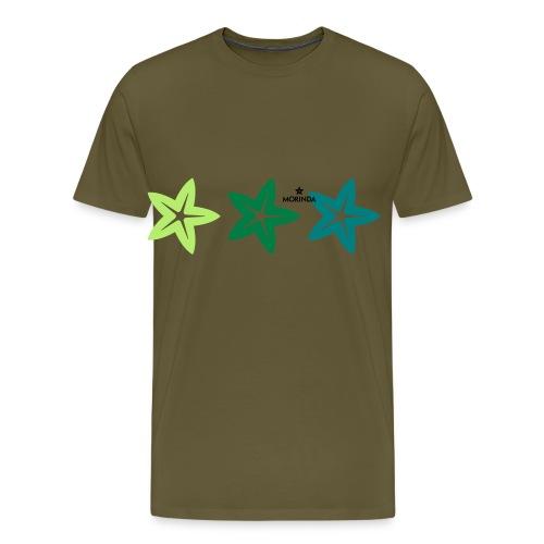 Morinda blossom - Männer Premium T-Shirt