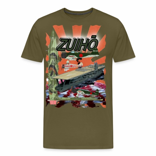 """""""Zuiho"""" Flugzeugträger - Männer Premium T-Shirt"""