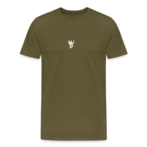 WayanoBoss WB png - Mannen Premium T-shirt