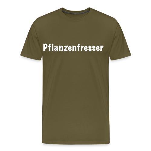 Pflanzenfresser - Männer Premium T-Shirt