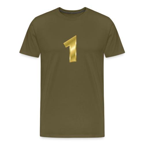nummer 1 - Männer Premium T-Shirt
