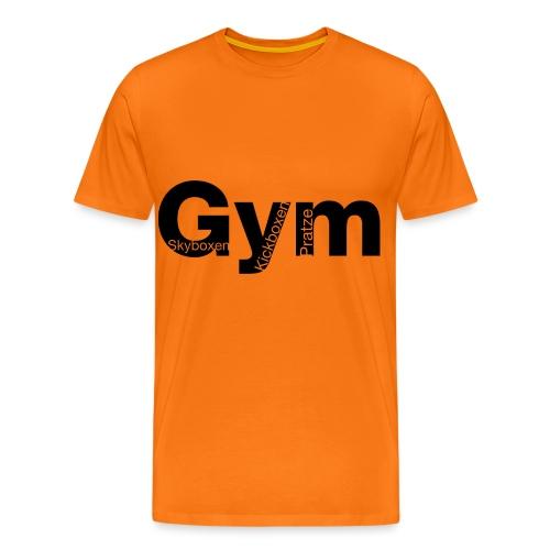 Gym Black - Männer Premium T-Shirt
