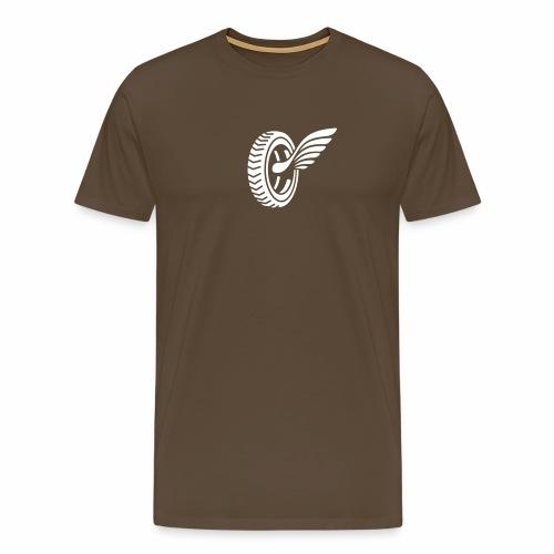 Car badge tires and wings - Men's Premium T-Shirt