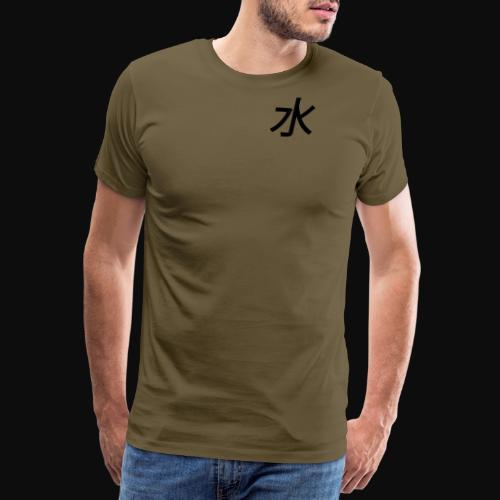 water #element - Herre premium T-shirt
