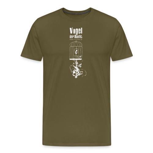 vodena pixelshirtweiss - Männer Premium T-Shirt