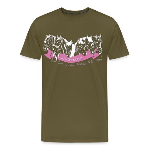 Anita Girlietainment Herde - Männer Premium T-Shirt
