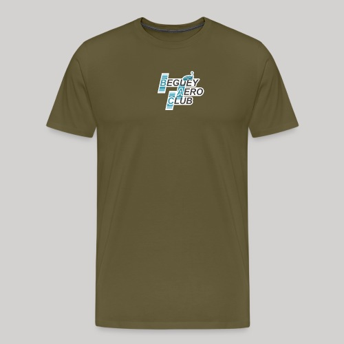 logo Le B.A.C. FPV 2018 bordure blanche - T-shirt Premium Homme