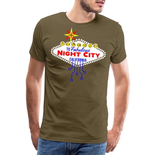 Welcome to fabulous Night City Cyber Punk 2077 - Männer Premium T-Shirt