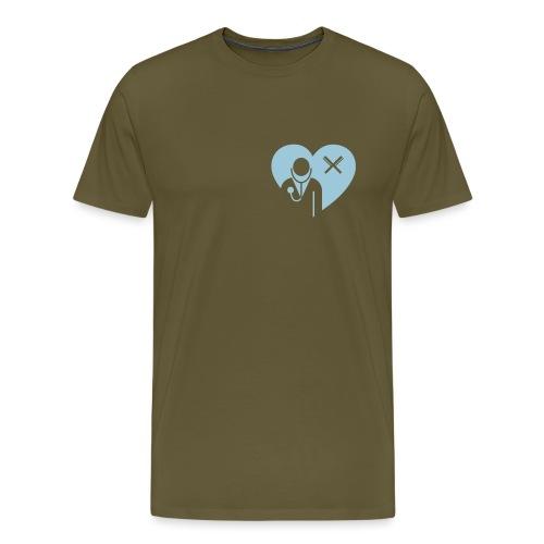 Stilblueten_gruen - Männer Premium T-Shirt