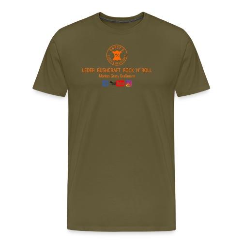 GLW T Shirt R Braun png P - Männer Premium T-Shirt
