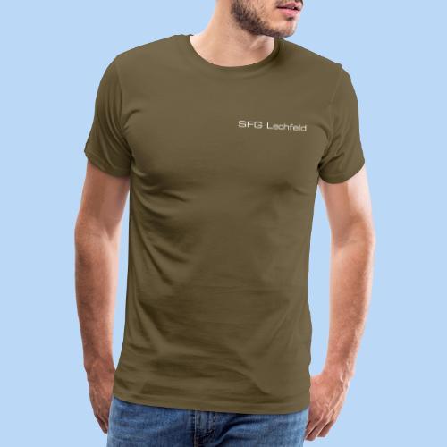 Rückrat der SFG Lechfeld - Männer Premium T-Shirt