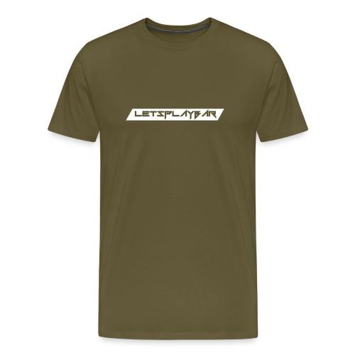 Letsplaybar Merch Weiß - Männer Premium T-Shirt