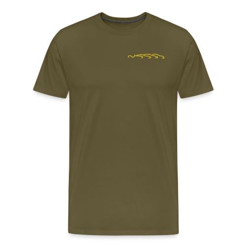 forum logo fett - Männer Premium T-Shirt